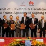Schindler podpisał globalne porozumienie z Huawei w sprawie współpracy na rzecz